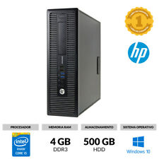 ORDENADOR SOBREMESA HP 800 G1 SMALL CORE I5 @ 3,30GHz 4GB RAM 500GB WINDOWS 10