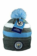Manchester City F.C. Authentic Official Licensed Product Soccer Beanie - 03-4