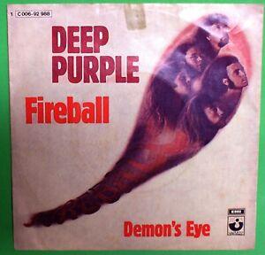 Deep purple - Fireball , demon's eye - 45 giri - C006-92-988