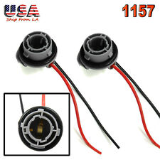 1156 7527 P21W Female Wire Harness Connector Front Rear Signal Brake Stop Light