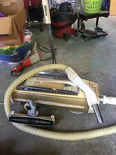 electrolux super J canister vacuum cleaner with power nozzle and brush runs gr8t