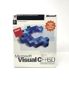 Microsoft Visual C++ Standard Edition Version 6.0 SEALED