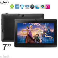 """7"""" HD Bluetooth Quad Core Tablet PC Touch Screen Android 4.4 WIFI 8GB ROM free"""