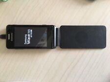 Samsung  Wave GT-S7230 - Mitternachtschwarz (Ohne Simlock) Smartphone