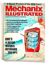 Mechanix Illustrated JUNE 1973 Citroen Maserati How to Install a Sump Pump