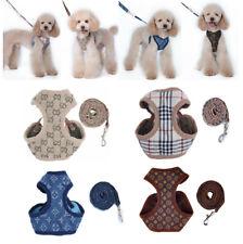 Cowboy Breathable Pet Dog Vest Harness Leather Harnesses Set Puppy Rabbit Cat