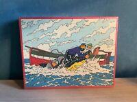 Puzzle Tintin Wavery Eldorado.1977
