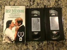 THE BEST INTENTIONS RARE 2 VHS TAPE SET! NOT ON U.S DVD! SWEDISH w/ENGLISH SUBS!