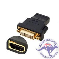 1 x HDMI Female to DVI-I Dual Link Female Converter Adapter (008)