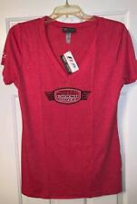F1 United States Grand Prix Red Ladies Circuit of the Amercias T-Shirt, Large
