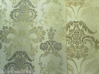 Designers Guild Curtain Fabric KASHGAR 3.7m Linen - 100% Cotton Damask 370cm