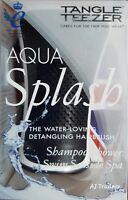 Tangle Teezer Aqua Splash The Water Loving Detangling Hairbrush Black Pearl.