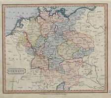 "Cary Map - c1800 - ""GERMANY"" - Hand Colored Copper Engraving"