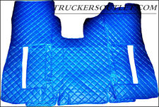 SCANIA R 2005 - 2009 LEATHERETTE FLOOR SET IN BLUE [TRUCK PARTS & ACCESSORIES]