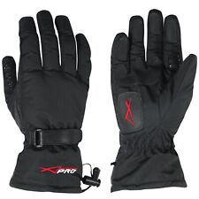 Waterproof Thermal Warm Motorbike Motorcycle Scooter Textile Gloves Touring L