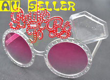 Bride To Be Bling Costume Glasses Hen Night Party Bridal Shower Accessories