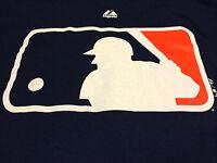 Detroit Tigers Major League Baseball MLB LOGO Majestic T Shirt Jersey NEW NWT