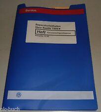 Werkstatthandbuch New Beetle ab 1999 Karosserie Eigendiagnose