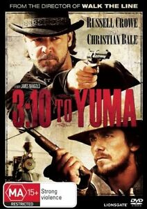 3:10 To Yuma Russell Crowe Region 4 DVD Brand New