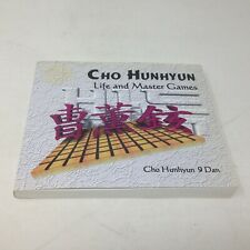 CHO HUNHYUN Life and Master Games 9 Dan (Asian Game of Go) PB Book w/ CD-ROM
