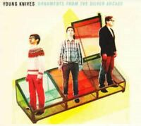 YOUNG KNIVES ornaments from the silver arcade (CD, album, 2011) punk, indie rock