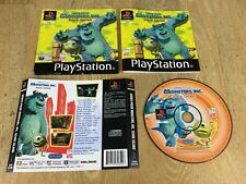 Disney Pixar Monsters Inc Scare Island - Playstation One Game PS1 ** NO CASE **