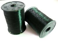 2 Roll 80 Metres Strong Black Nylon Beading Invisible Cord String Thread 0.25mm
