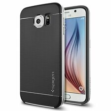 Spigen Galaxy S6 Case Neo Hybrid Series Satin Silver