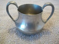 Vintage Concord Pewter Coffee Sugar Bowl #487