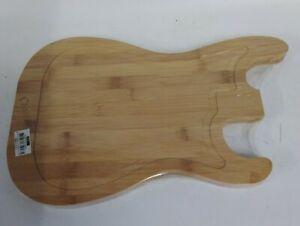 MikaMax Guitar Chopping Board  Bamboo