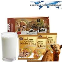 HALAL 2 Boxes Camel Milk Powder Natural With High Protein & Calcium (20's) - New
