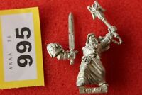 Games Workshop Warhammer 40k Dark Angels Interrogator Chaplain Asmodai Metal
