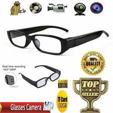 Mini HD Camera Glasses 1080P Hidden Eyeglass Sunglasses Camera Eyewear DVRs NVRs