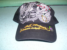 NWOT Unisex Ed Hardy Black Adjustable Cap- BRAND NEW!!!!