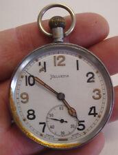 WW2 Helvetia GS/TP 183167 military pocket watch