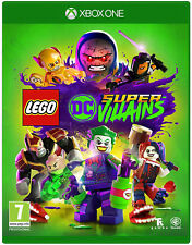 LEGO DC Super-Villains Xbox One Game | BRAND NEW SEALED, FAST FREE POST