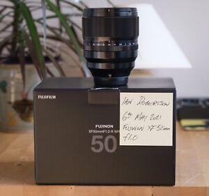 Fujifilm / Fuji / Fujinon XF 50mm F1.0 WR portrait lens - Free Shipping