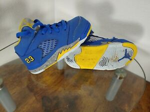 """Nike Air Jordan 5 'V' Retro """"Laney"""" JSP TD Size 6C"""