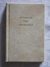 Aucassin et Nicolette-minibuch, 1978, première édition