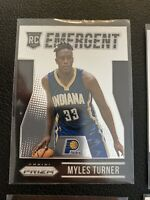 Myles Turner Rookie Card Lot (4) Indiana Pacers