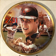 Bradford Exchange Cal Ripken Jr by Jason Walker Baseball record Breakers Plate
