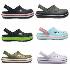 Crocs 204537 CROCBAND KIDS Unisex Boys Girls Summer Lightweight Comfort Clogs