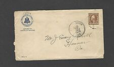 #427 1916 NEW ENGLAND TELEPHONE & TELEGRAPH CO,KENNEBUNK,ME ADVERTISING COVER