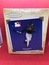 2004 Hallmark Keepsake Ornament Barry Bonds At The Ballpark Collector'S Series