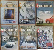4 Piccoleruote - Periodico del Fiat 500 Club Italia - Annata completa 2007
