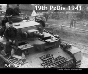 """""""19th PzDiv 1941"""". PzKpfwIV at the front Supplementary Edition."""
