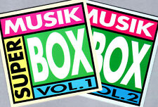 SUPER MUSIK BOX - 2x BEAR FAM. CD mit NICO HAAK, SCOTT McKENZIE, TEE SET, KARAT