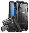 """iPhone XS Max 6.5"""" Case i-Blason Armorbox Cover with Screen Protector Kickstand"""