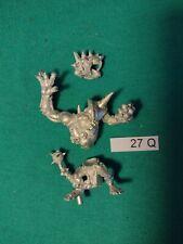 Lot 27Q Rat Ogre Skaven Blood Bowl Metal Oop