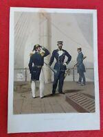 Lithographie rehaussée LEMERCIER 26x35
